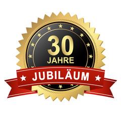 Button mit Banner - Jubiläum 30 Jahre