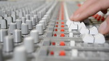 sound mixer shallow Depth of field