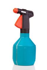 blue spray