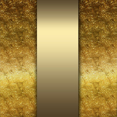 elegant gold and brown background with tape design layout