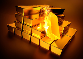 Red Hot Bullion Gold