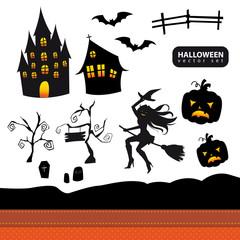 Halloween Vectorset