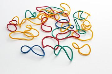 Bracelets de caoutchouc