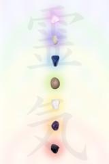 Stones in chakras