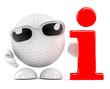 Golfball has info