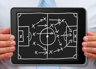 Fußball Strategie - Soccer Strategy
