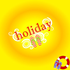 holiday background color vector illustration