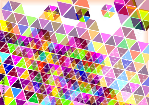 modern texture hexagons background