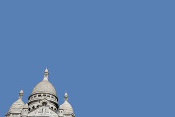 Elevated view of Sacre Coeur in Paris