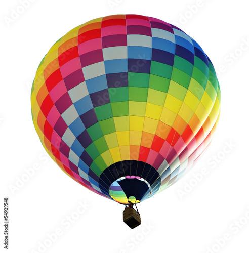 Foto Spatwand Ballon fesselballon