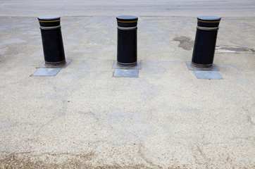 Retractable Bollards in London