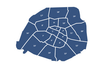 Arrondissements de Paris