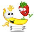 banana fragola split