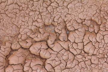Textura barro seco agrietado. Sequía.