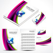 Wave Brochure Set Design