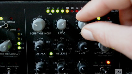 adjusting limit on sound compressor tight shot