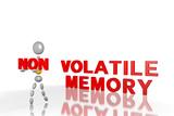 non-volatile memory - 3D poster