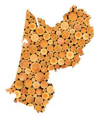 Région Aquitaine, industrie du bois