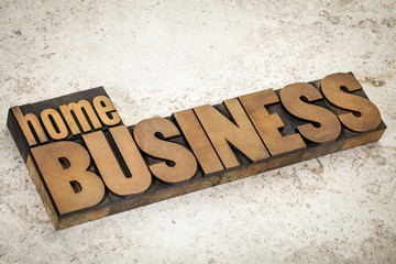 home business  in wood type