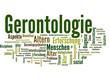 Gerontologie (Geriatrie, Alter, Tagcloud)
