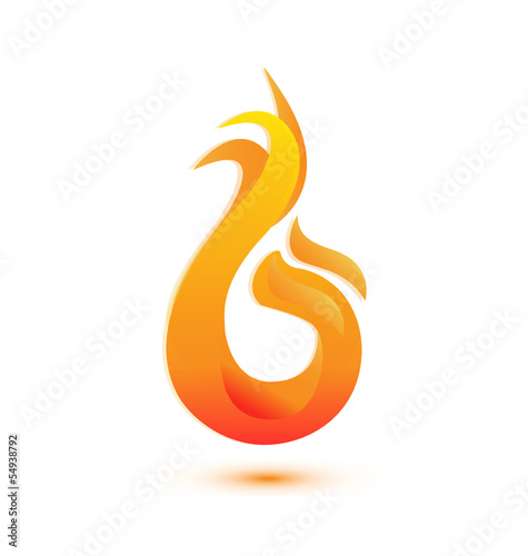 Flames logo vector eps10