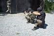 special police unit in training, school