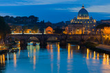 Vatican and the Tiber river