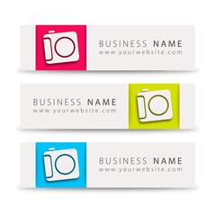 Business card, photographer