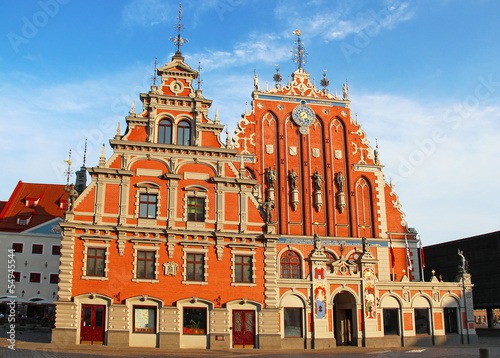 Blackheads House, Riga, Latvia
