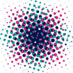 Raster bitmap background