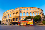 Ancient Roman Amphitheater; Pula, Croatia