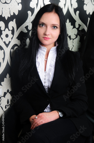 Portrait of a presentable young businesswoman