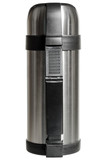Universal metal thermos for hot and cold foods and beverages