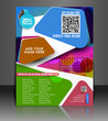 Vector shopping sale brochure, flyer, magazine cover