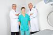 Team mit Ärzten und Krankenschwester