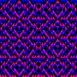 Purple, Pink and Blue Pattern