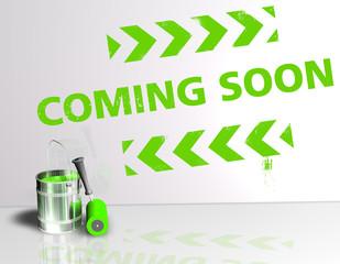 Farbeimer - Coming Soon Grün