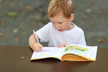 Little child learning