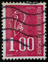 French postage stamp, type Bequet
