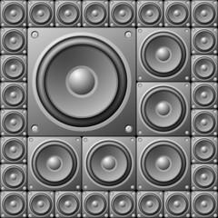 Musical equipment background