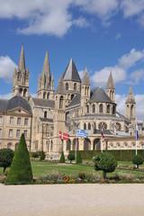 Le Chevet et les flèches 3, Abbaye aux Hommes, Caen