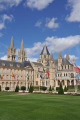 Le Chevet et les flèches 2, Abbaye aux Hommes, Caen