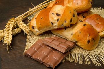 pane al cioccolato