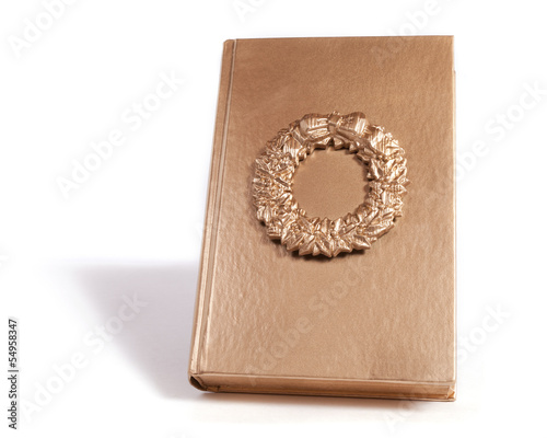 Gold Wreath Book