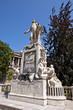 Monument for Wolfgang Amadeus Mozart. Vienna, Austria