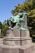 Statue of Johann Wolfgang von Goethe. Vienna, Austria