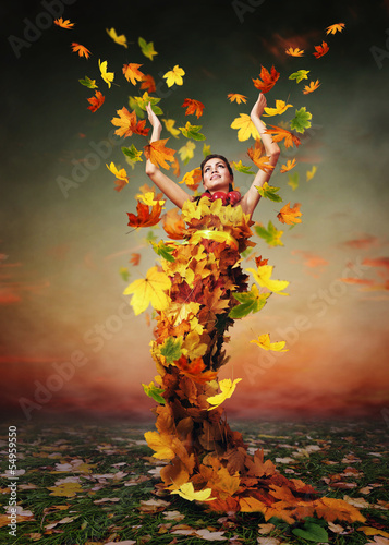 Golden Lady Autumn