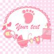 Card for newborn boy