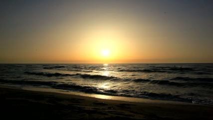 les vagues....