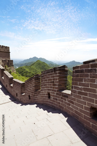 Staande foto Chinese Muur The Great Wall of China